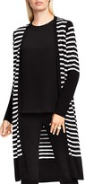 Vince Camuto Stripe Duster Cardigan