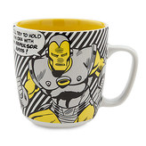 Disney Iron Man Comic Book Mug