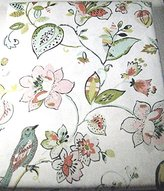 Nicole Miller Home Floral with Birds Tablecloths Asstd. Sizes 100% Cotton (60 x 84 Oblong)