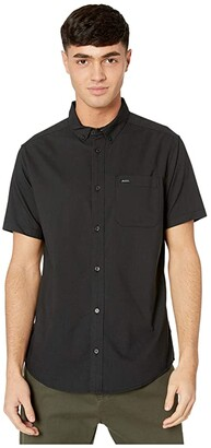 RVCA That'll Do Stretch Short Sleeve (Black) Men's T Shirt