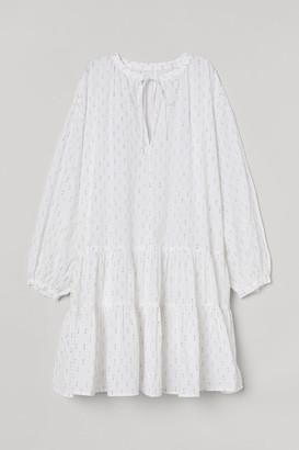 H&M Cotton Beach Dress - White