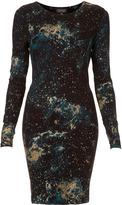 Glitter Space Bodycon Dress
