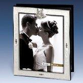 Godinger WHITE EPOXY WEDDING ALBUM W/STONES