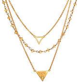 Satya Interconnectedness Triple Strand Necklace