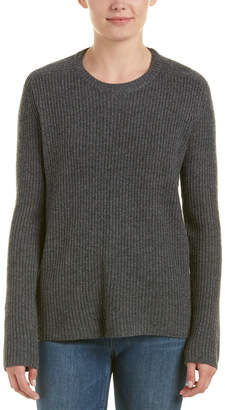 A.L.C. Peter Wool-Blend Open Back Sweater