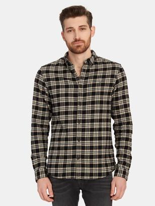 AllSaints Ridgewood Long Sleeve Button Down Shirt