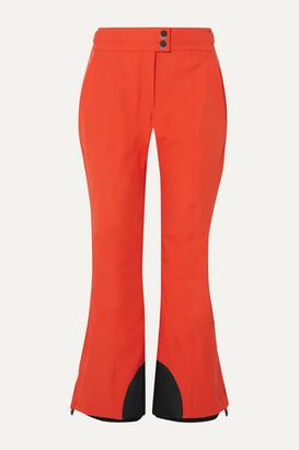 Moncler Flared Ski Pants - Orange