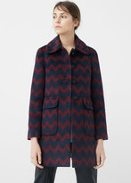 MANGO Pockets Wool Coat