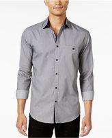Alfani Men's Long-Sleeve Regular Fit Texture Shirt, Only at Macy's