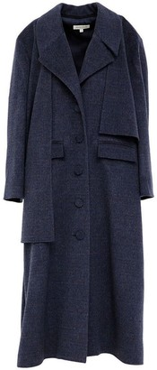 Doyi Park Asymmetrical Oversized Trench Coat