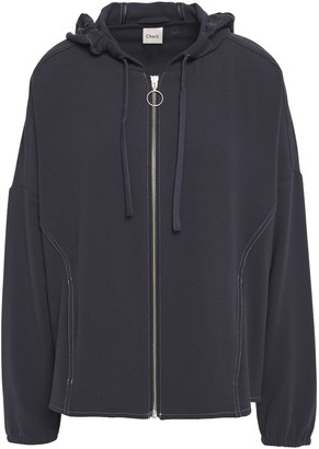 Charli Crepe Hooded Jacket