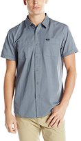 RVCA Men's Steady Short Sleeve Shirt