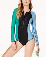 Volcom Colorblocked Long-Sleeve Swimsuit Women's Swimsuit