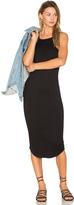 LnA Square Bib Dress