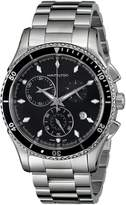 Hamilton Men's H37512131 Jazzmaster Seaview Chronograph Dial Watch