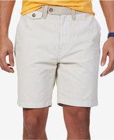 Nautica Men's Modern-Fit Flat-Front Canvas Shorts