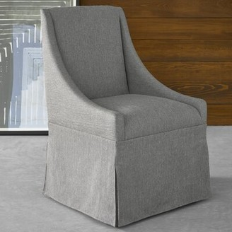 Darby Home Co Baronta Caster Upholstered Dining Chair