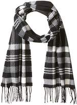 David & Young Softer Than Cashmere Acrylic Scarf with Fringe Accessory