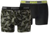 Puma Men's Hyper Camo Boxer Shorts 2 Pack
