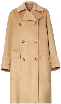 Burberry Ersdon Cashmere Double Breasted Coat