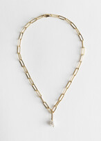 And other stories Pearl Pendant Chain Necklace