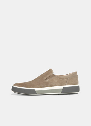 Vince Perforated Suede Randell Sneaker