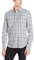 Nudie Jeans Men's Gunnar Check Woven Shirt