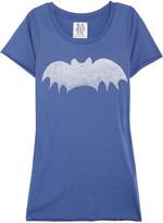 Bat cotton and modal-blend T-shirt