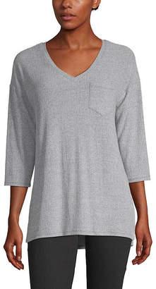 A.N.A Womens V Neck 3/4 Sleeve T-Shirt