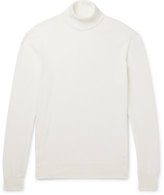 Slim-Fit Merino Wool Rollneck Sweater