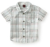 Tea Collection Enrico Plaid Woven Shirt (Baby Boys)