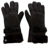 UGG Suede Shearling Gloves