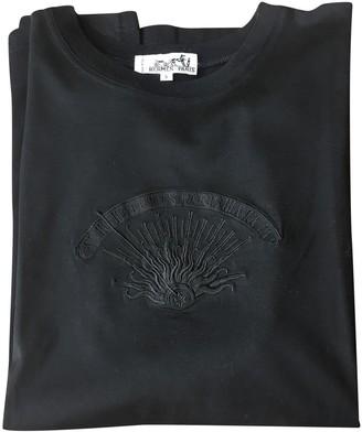 Hermes Black Cotton Top for Women