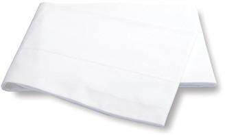 Matouk Luca Hemstitch Flat Sheet - White Full/queen