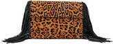 Polo Ralph Lauren Leopard-Print Haircalf Clutch