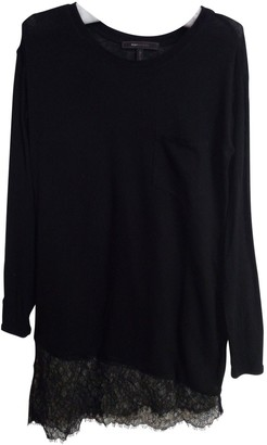 BCBGMAXAZRIA Black Cotton Top for Women