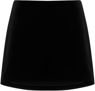 we11done A-line mini skirt