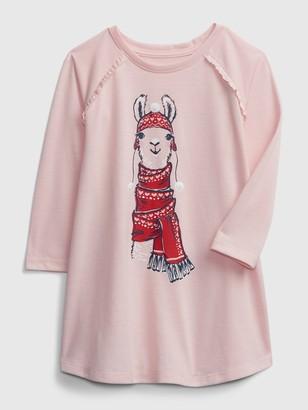 Gap babyGap Llama PJ Dress