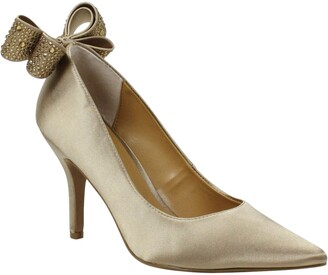 J. Renee Zenata Bow Pointed Toe Pump