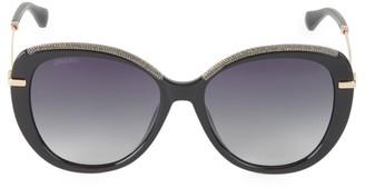 Jimmy Choo Phebe 56MM Cat Eye Sunglasses