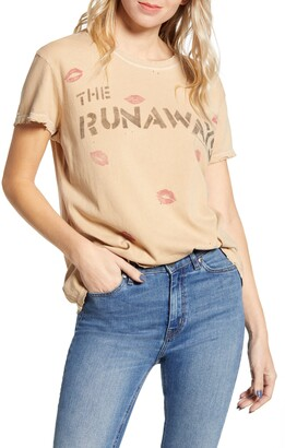 Junk Food Clothing Runaways Live in Japan Graphic Tee