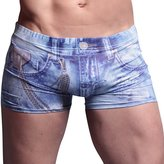 Acme CME Mens Underwer Sexy Boxer Shorts Imittion Jens Personlity Brethble Briefs Size L
