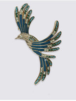 M&S Collection Vintage Mocking Bird Brooch