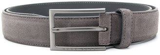 HUGO BOSS Engraved Logo Belt