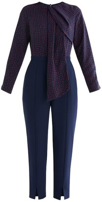 Paisie Ivie Polka Dot Top Jumpsuit