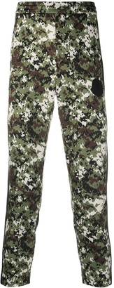 Moncler Camouflage Print Track Pants