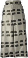 Vivienne Westwood 'Ream' culottes - women - Cotton/Polyester/Metallic Fibre - S