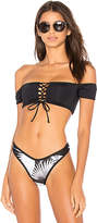L-Space LSPACE Dixie Top in Black