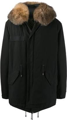 Mr & Mrs Italy zipped parka coat