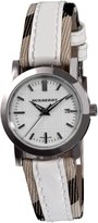 Burberry Women's BU1395 Round 3-Hand Date Dial Watch